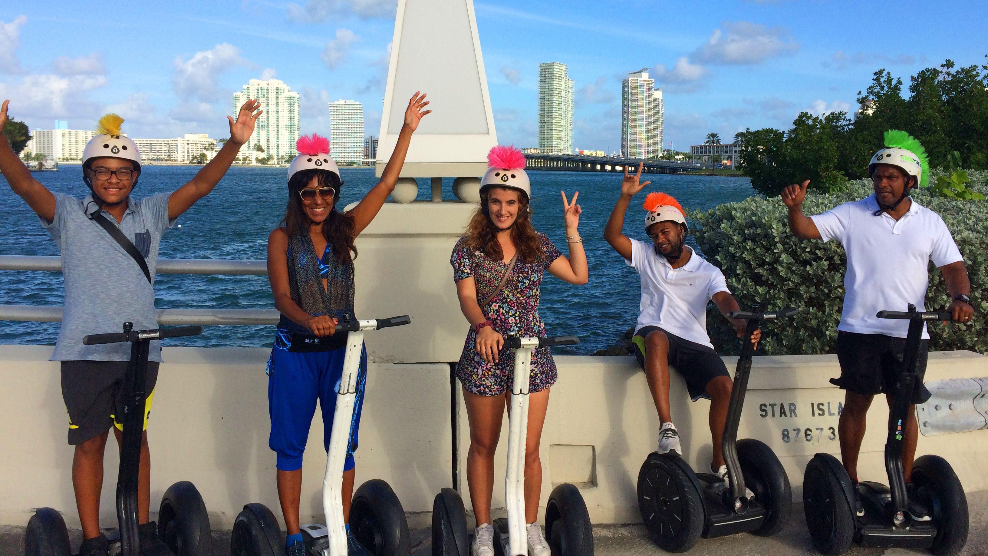 Segway-Tour durch South Beach zum Sonnenaufgang