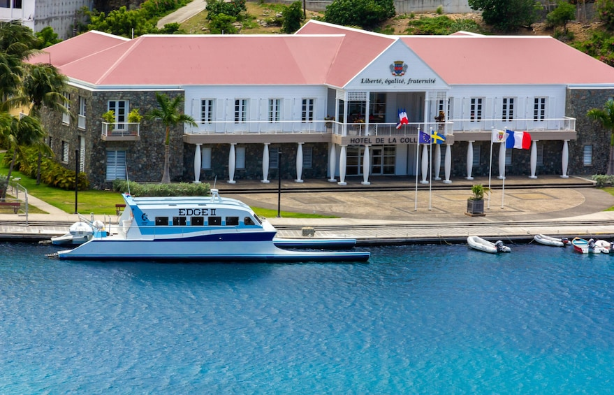 Show item 10 of 10. Edge Ferry to St. Barts