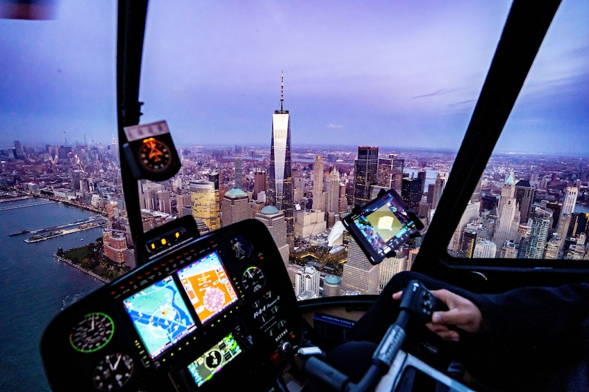 Show item 3 of 8. Couple's Private New York Helicopter Tour from Westchester