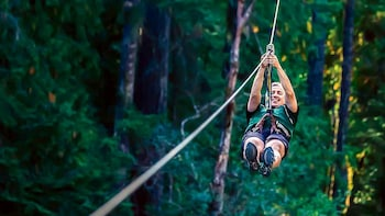 WildPlay Nanaimo's Zip line Tour