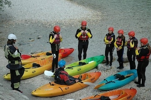 Guided Sit on Top Kayak Trip on Soca River