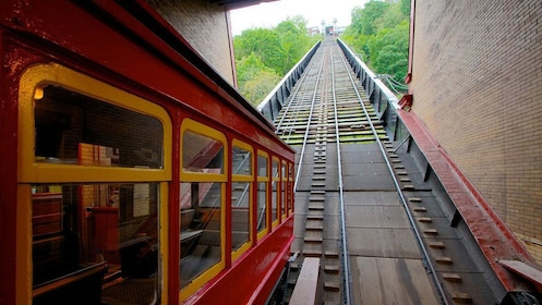 Tram at Duquesne Incline in Pittsburgh