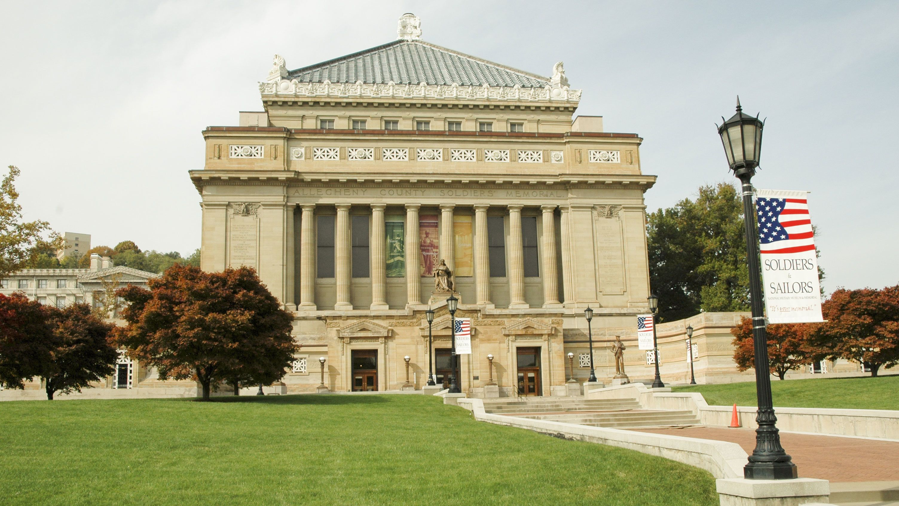 Soldiers and Sailors Memorial in Pittsburgh