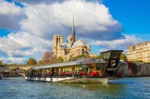 Croisière sur la Seine avec déjeuner de 3 plats et vin français