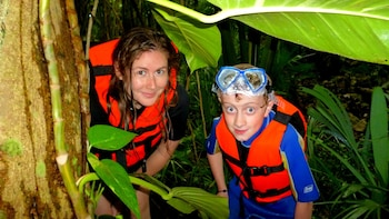 Kantemo Bats & Snakes Cave Eco-Adventure with Crocodiles