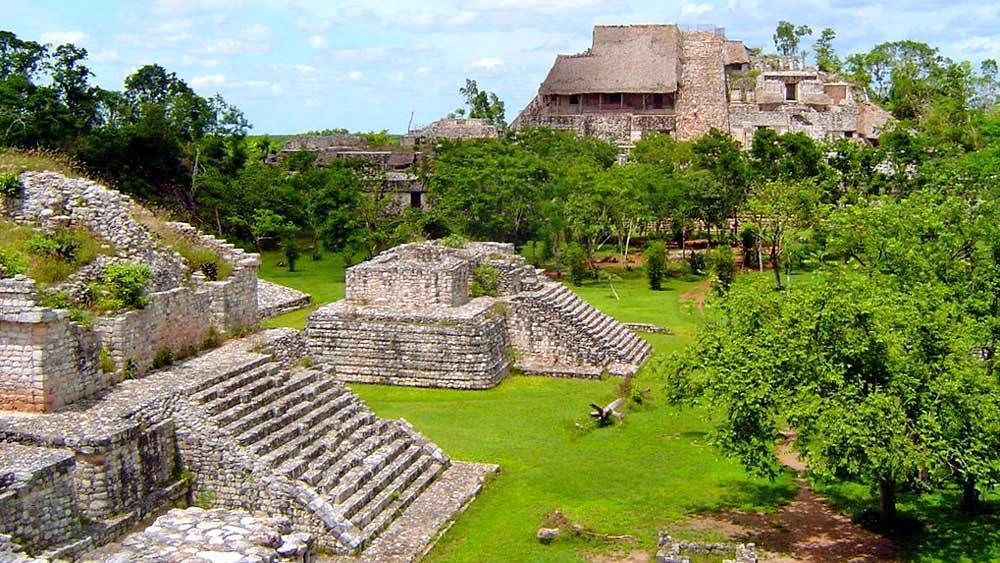 Ek' Balam & Cenote Hubiku with Valladolid