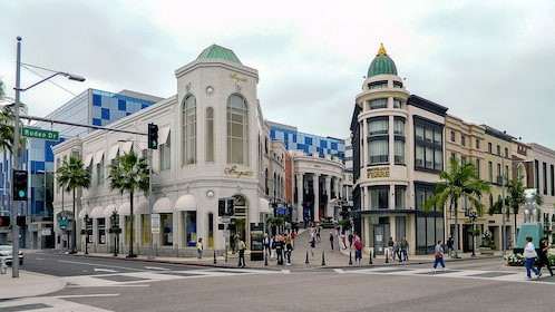 Rodeo Dr in Los Angeles