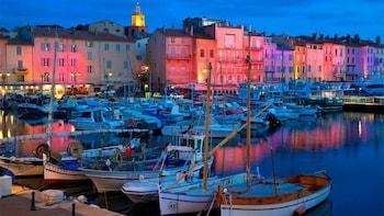 Excursion d'une journée complète à Saint-Tropez avec promenade en bateau