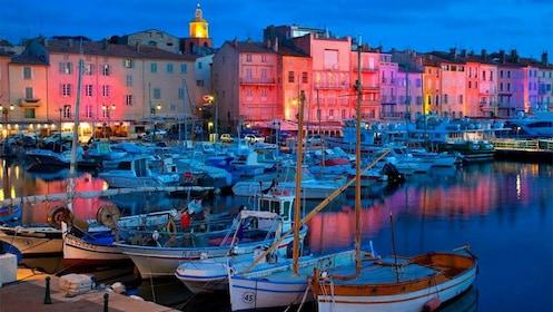 saint tropez port yacht in France