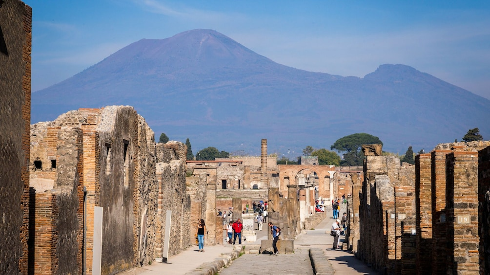 Show item 1 of 10. Skip-the-Line Pompeii & Vesuvius Tour: Day Trip Back in Time