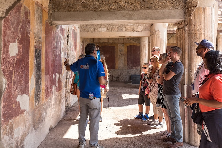 Show item 10 of 10. Skip-the-Line Pompeii & Vesuvius Tour: Day Trip From Rome