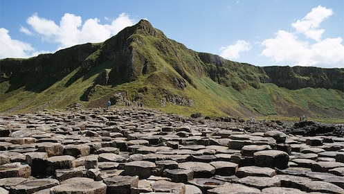 Day view of the county antrim, giant's causeway