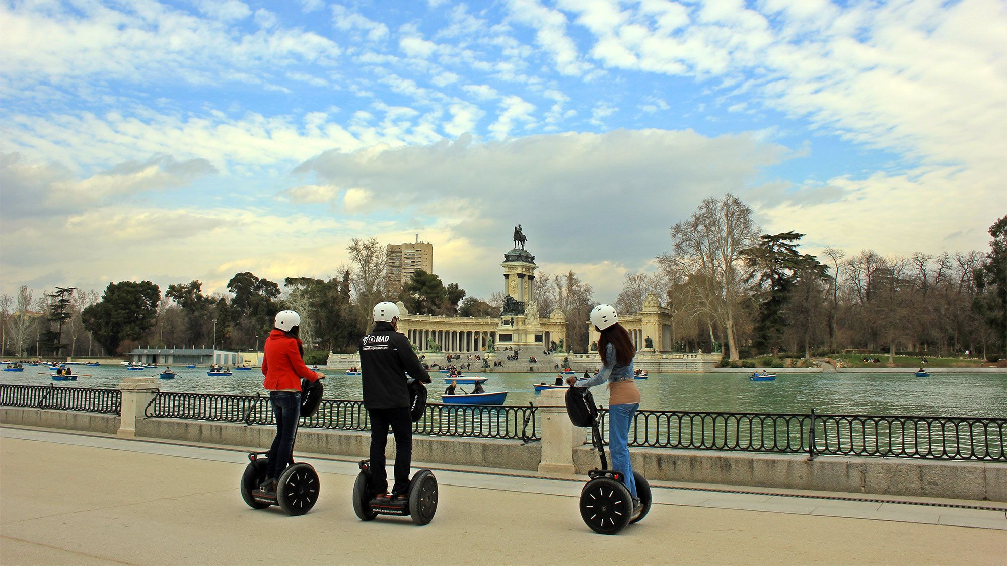 Day view of Barcelona on a segway tour