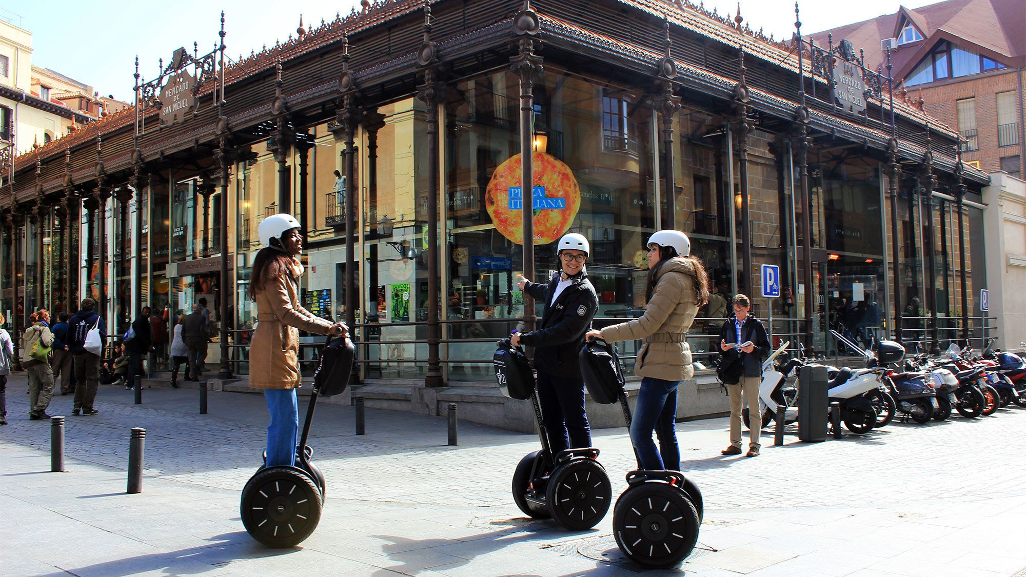Day view of the Barcelona Segway Tour