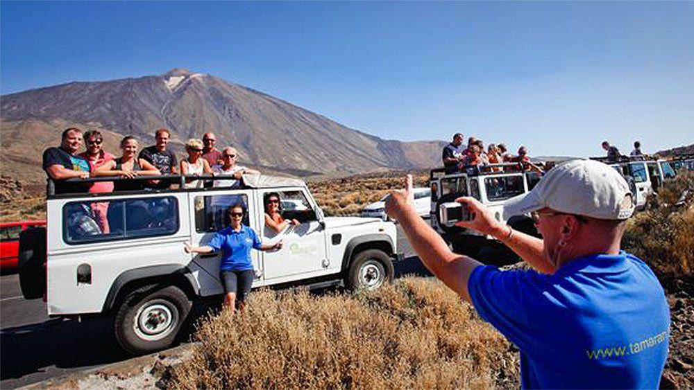 Balade en Jeep 4x4 : le parc national du Teide et les environs