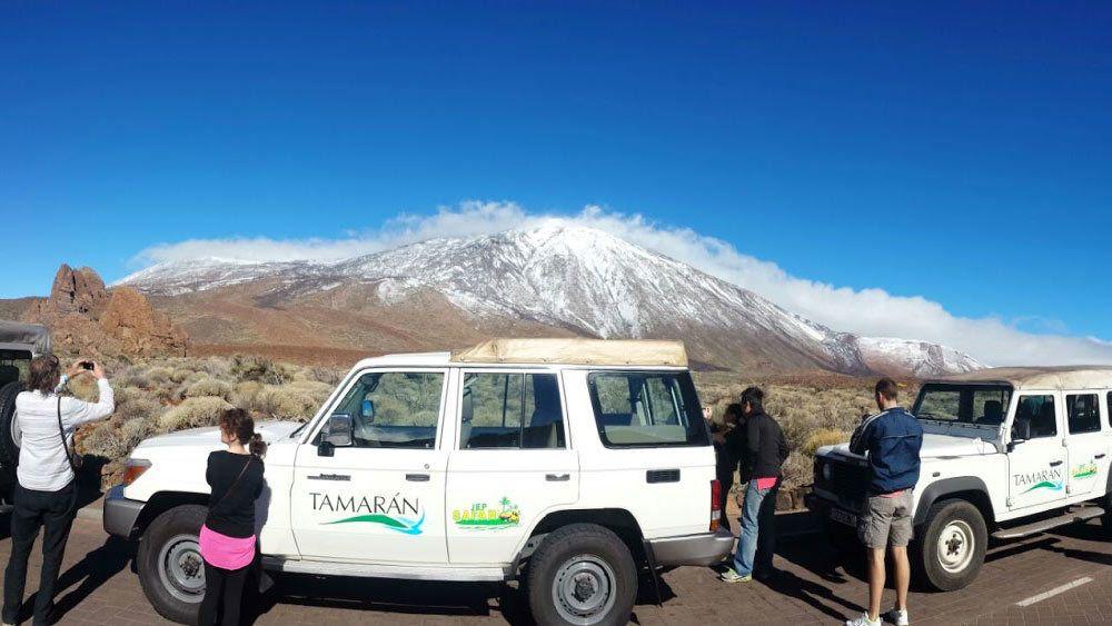 Excursión por el Parque Nacional del Teide en jeep con tracción de 4 ruedas
