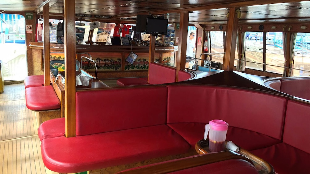 Show item 2 of 7. Interior of the cruise boat in Tenerife, Spain