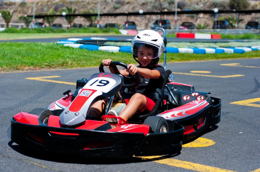 Show item 2 of 8. Go-Kart Experience for Kids & Adults
