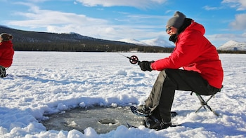 Ice Fishing in the Yukon