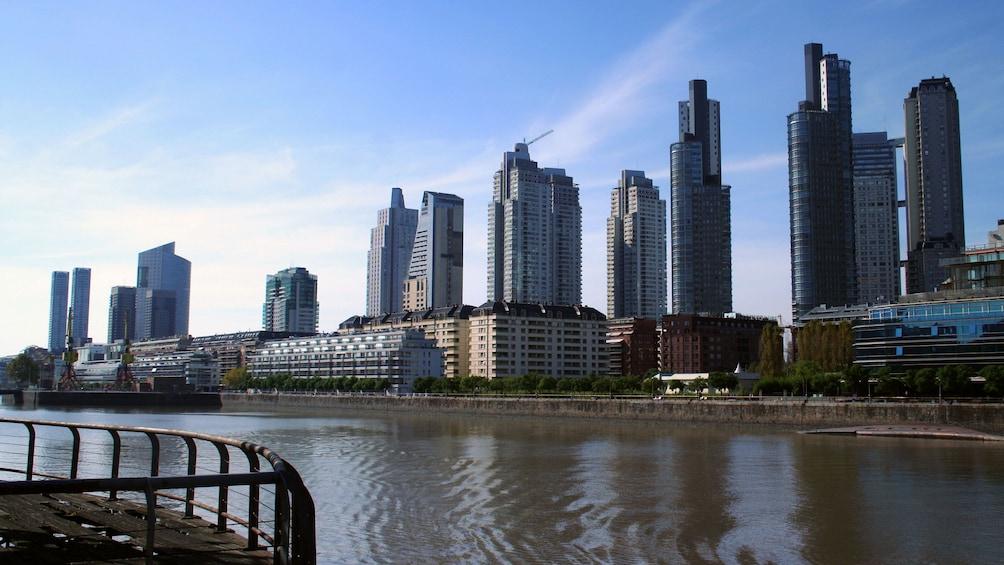Cargar ítem 2 de 10. Cityscape along the river in Buenos Aires