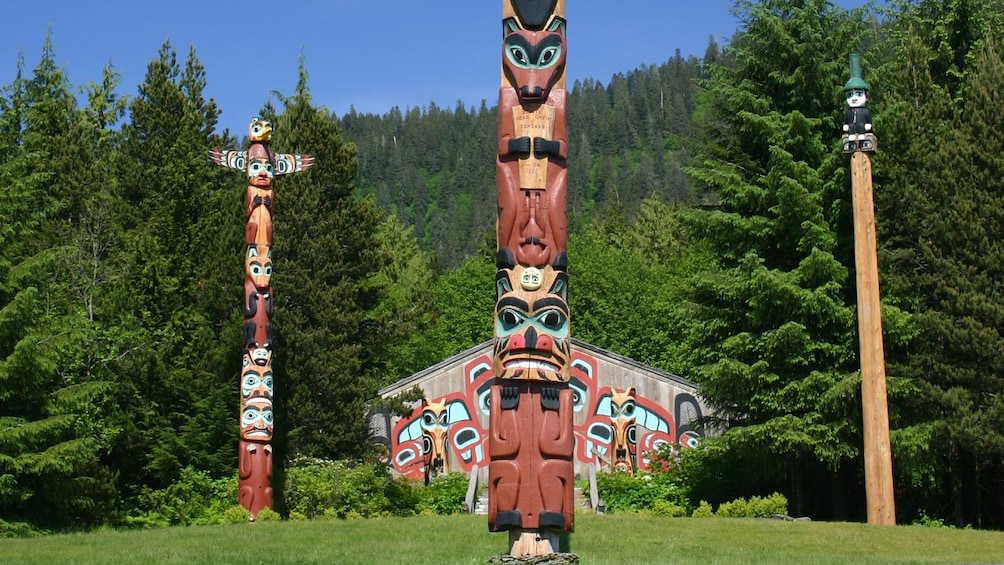 Show item 1 of 8. Totem poles