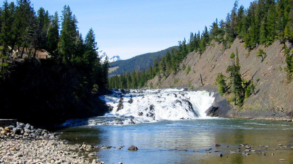 Show item 6 of 6. Bow falls in Banff