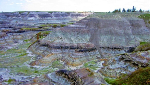 layered rock mounds in Canada