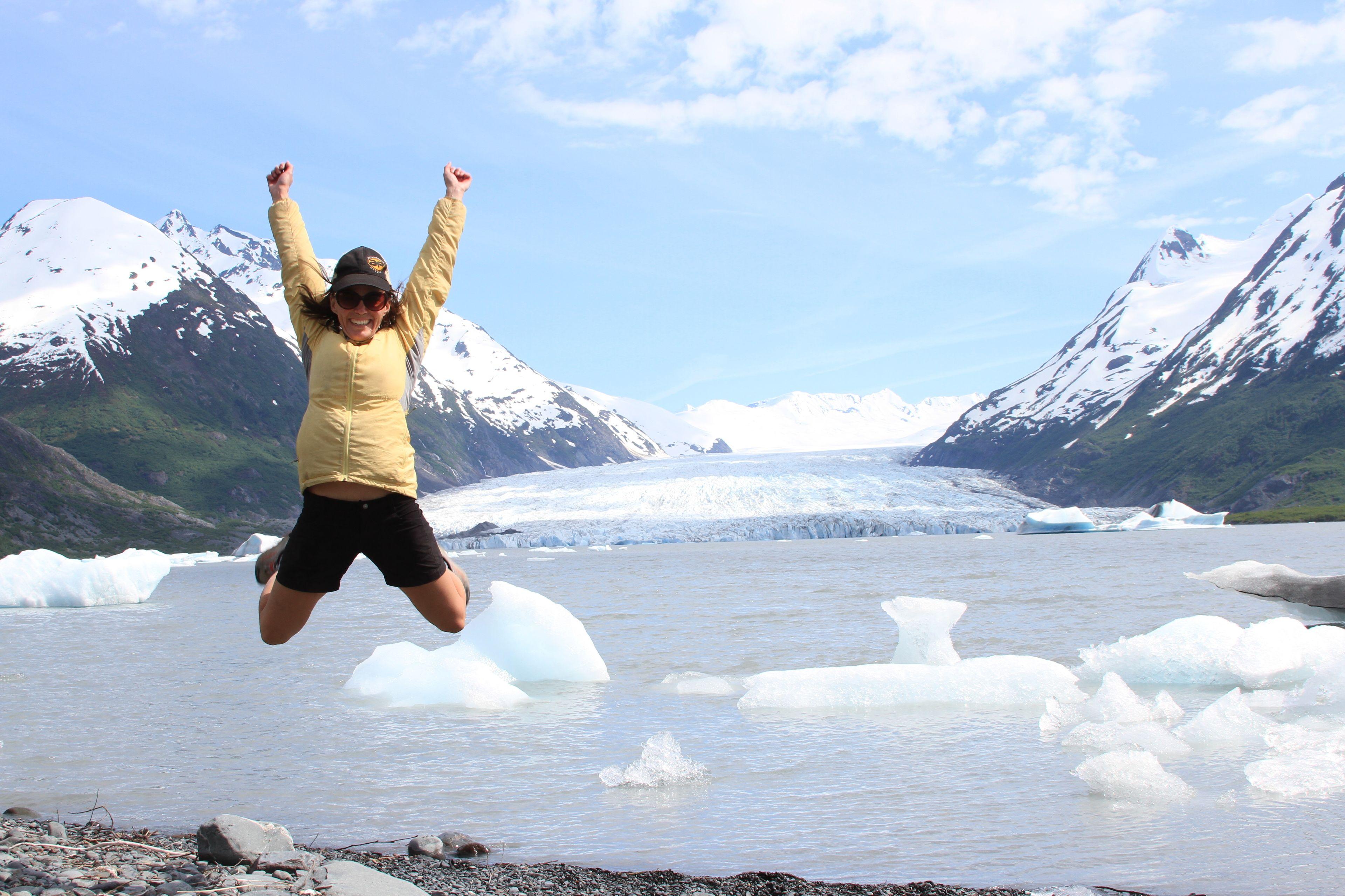 Spencer Iceberg & Glacier Viewing Hike & Scenic Train Ride
