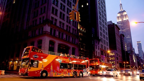 Bus tour in New york city