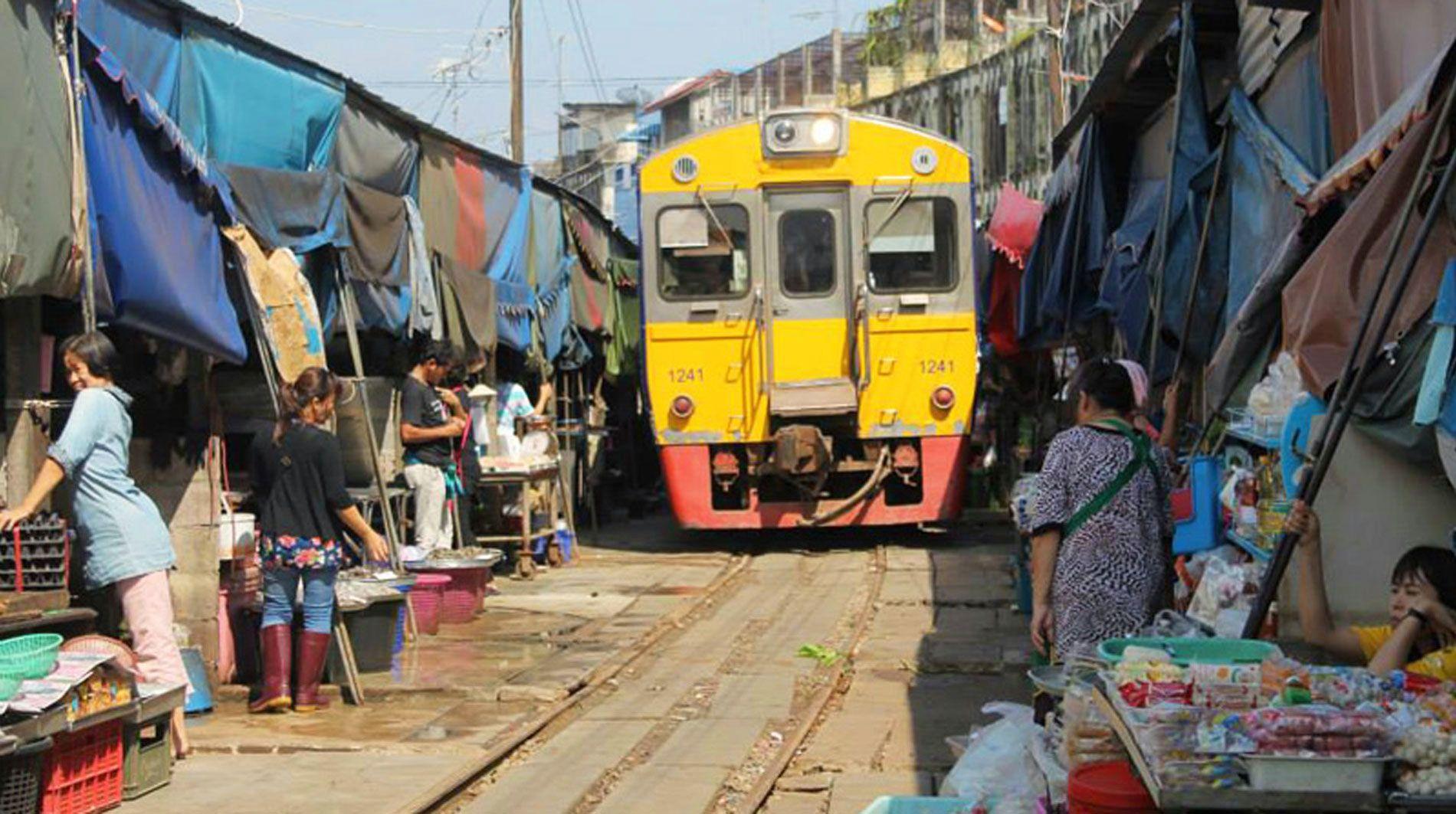 Mahachai Train Spotting Beyond Bangkok (Full Day)