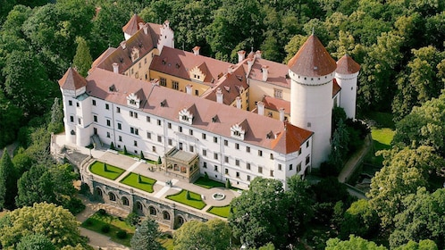 Konopiste and Karlstejn Castles Tour in Prague, Czech Republic