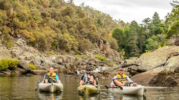 Pedal-Powered Canoe Tour on Tamar River