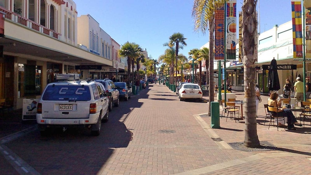 Show item 5 of 5. sunny day for a walk in the streets in Napier