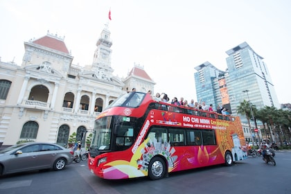 Ho Chi Minh City Hop-On Hop-Off Bus Tour (24 hours)