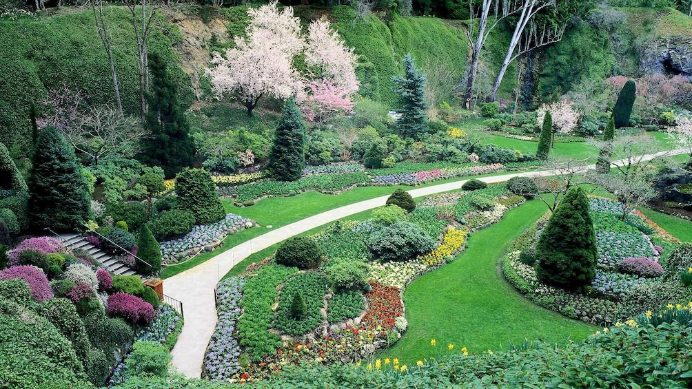 Show item 3 of 5. Butchart Gardens in Victoria