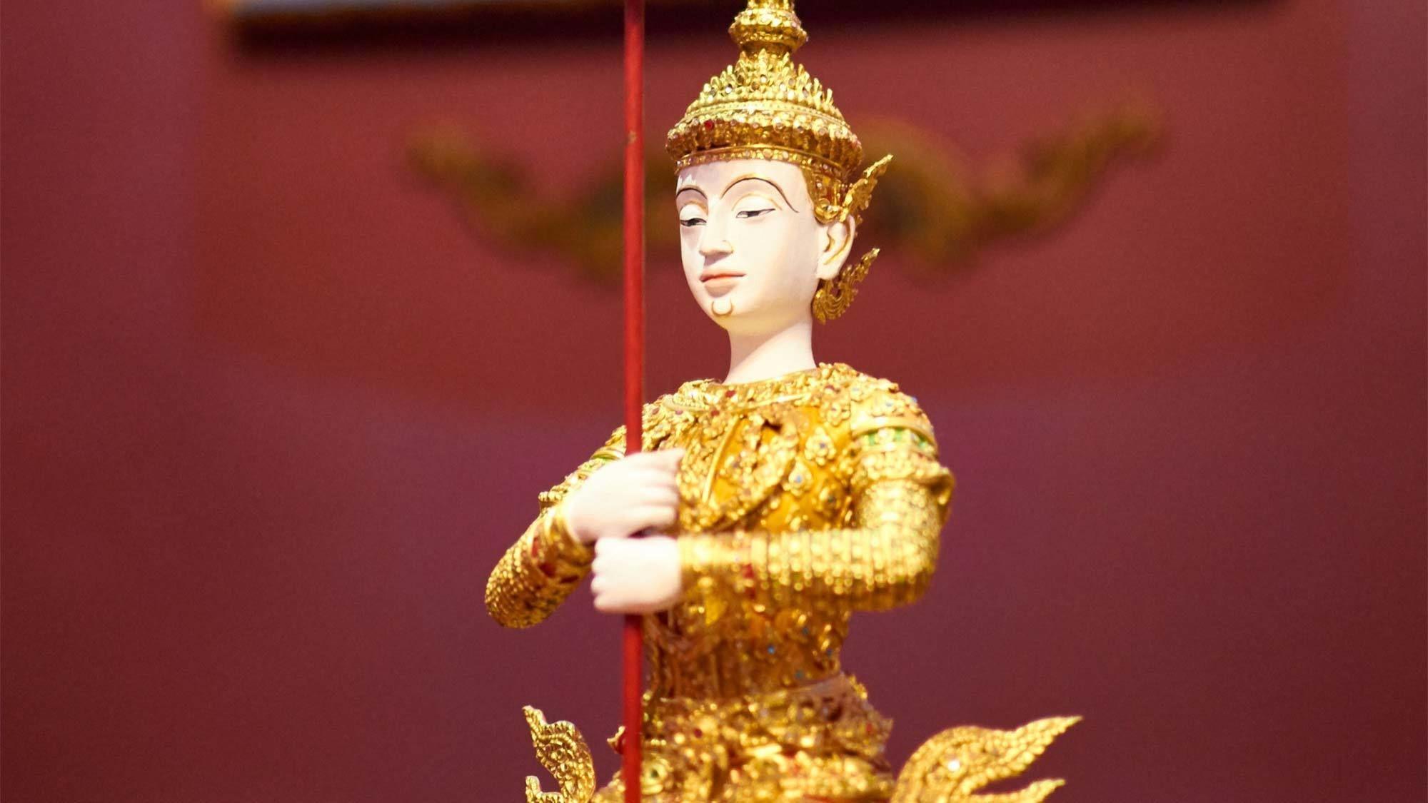 Statue at the Kamavijitra Museum in Bangkok, Thailand