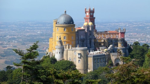 Castle on a cliff in Portugal
