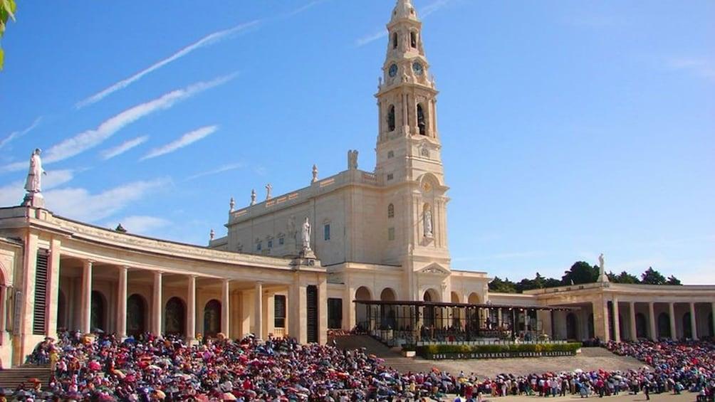 Fatima sanctuary in Lisbon