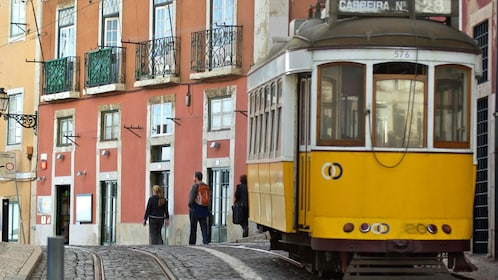 Street trolley in Lisbon