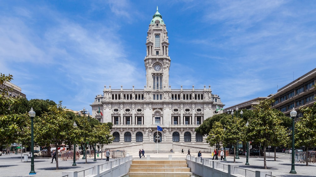 Show item 4 of 8. Portugal city hall