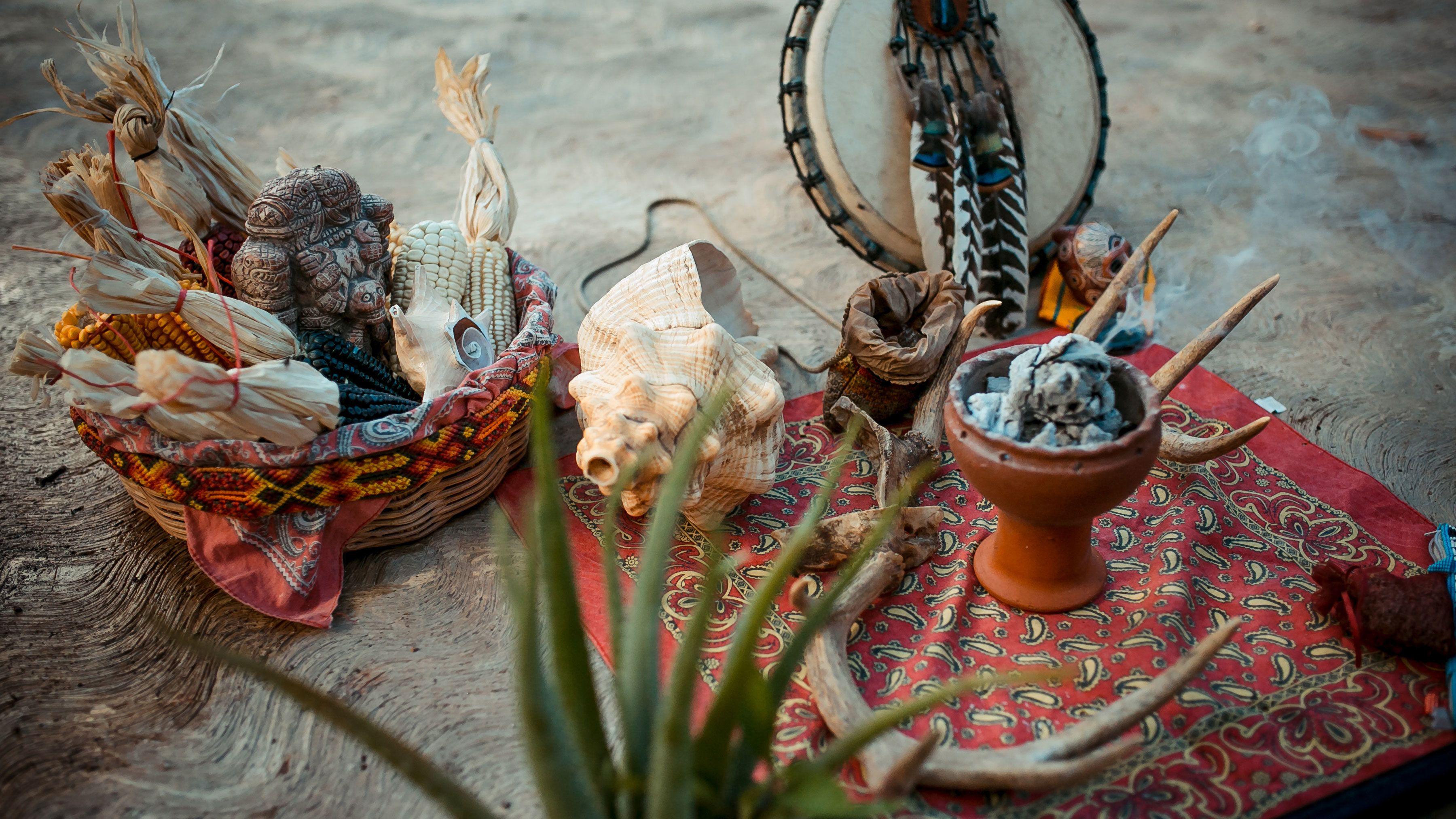 Items used in Temazcal Ritual