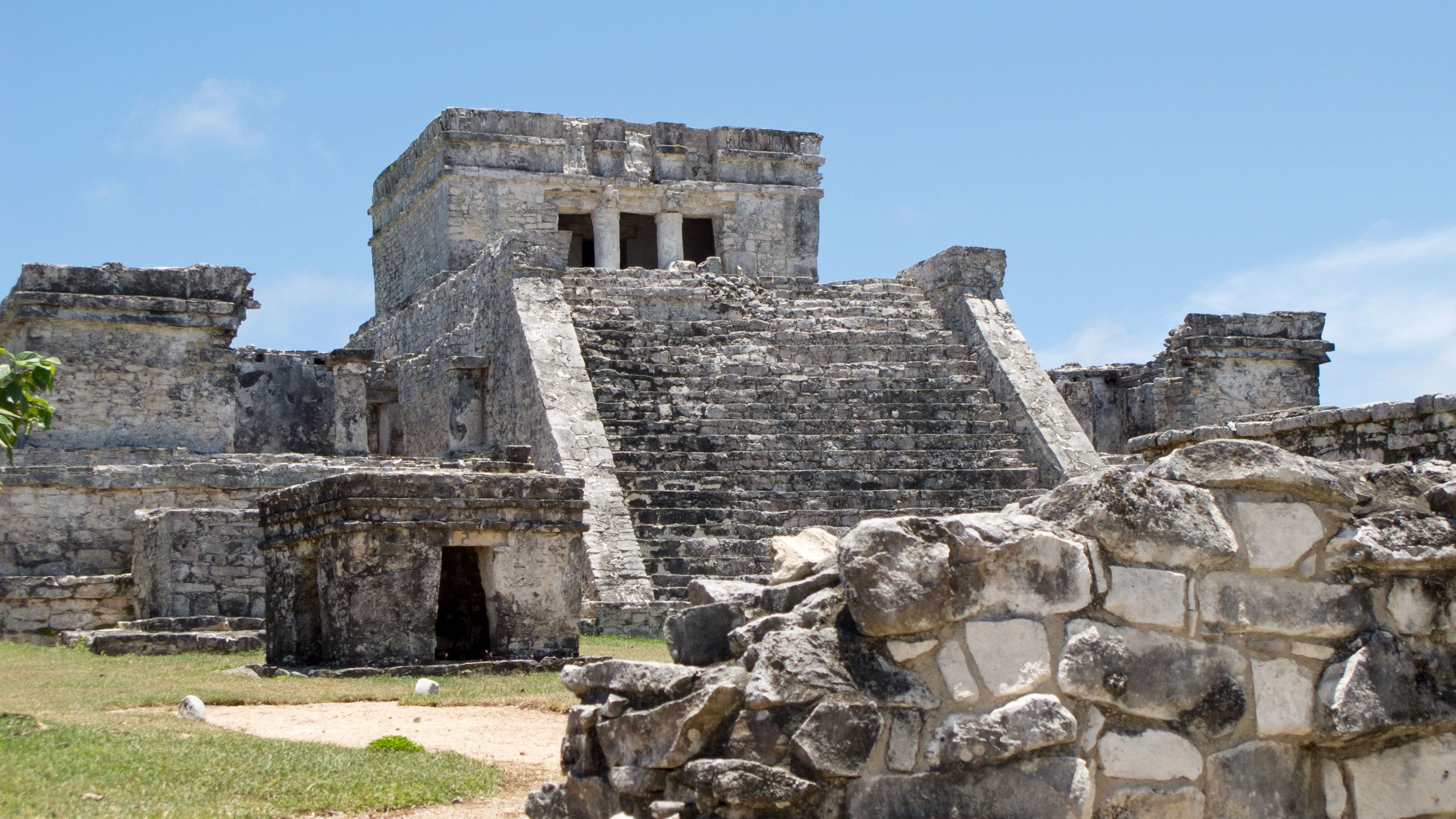 Ruins of a temple in Tulum