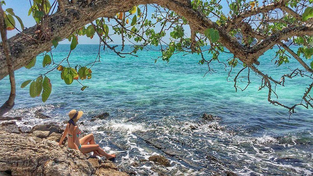 Rundtur på öarna i Krabi-provinsen med lunch