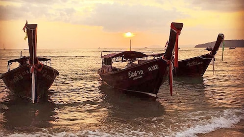 Krabi Sunset Dinner Cruise by Long Tail Boat