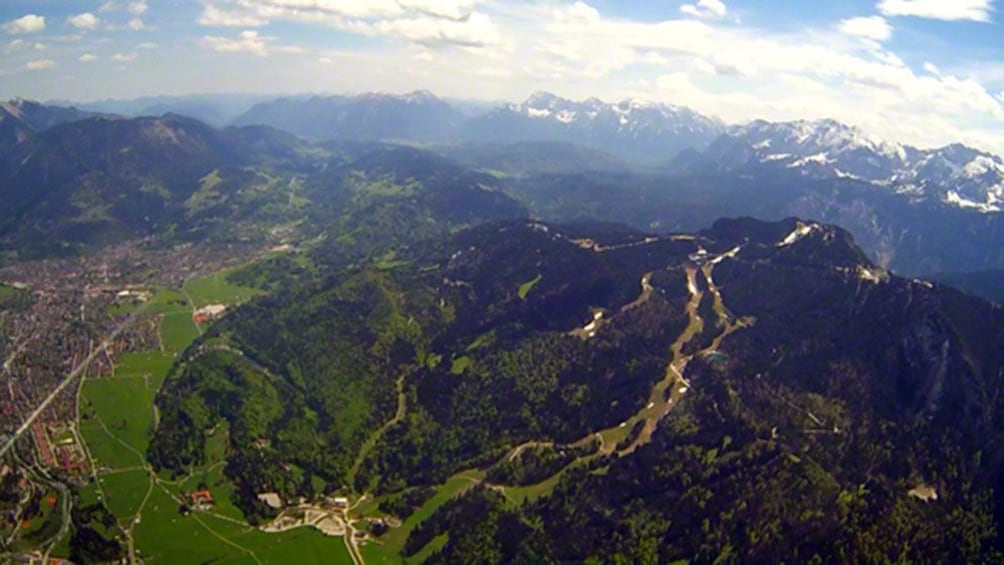 Show item 5 of 5. View on the Alpes and Munich Flight