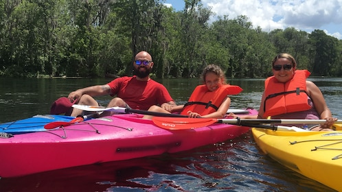 Kayakers in Orlando
