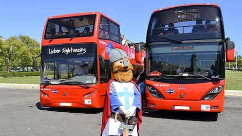 Hop on Hop off bus tour in Lisbon
