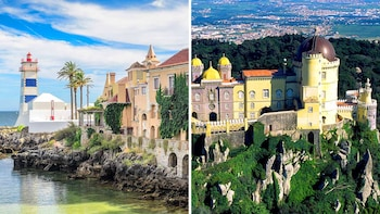 Private Combo Tour: UNESCO City of Sintra & Cascais Town