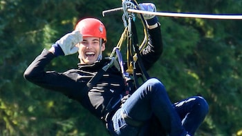 Rainforest Zip, Skybridge & Rappel Adventure