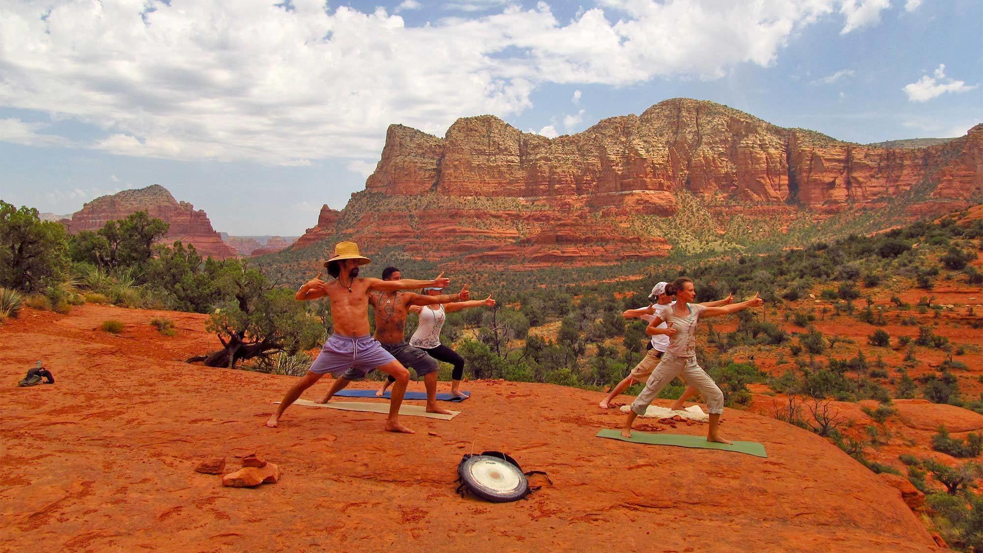 Yoga in Sedona- Prescott